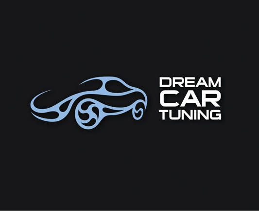 Разработка логотипа компании Dream Car Tuning